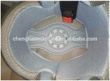 garniture intérieure à haute fréquence de casque de moto de la soudure 15kw et du découpage faisant la machine