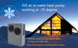 ar rachado de Evi da bobina 18kw elevada & do baixo ruído para molhar a bomba de calor