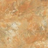 Parete di colore del Brown e mattonelle di ceramica del pavimento