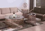 高品質のステンレス鋼フレームベースが付いている大理石のコーヒーテーブル