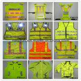 Qualitäts-beste verkaufende orange reflektierende Sicherheits-Weste (annehmen angepasst)