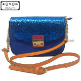 단 하나 어깨끈을%s 가진 파란 색깔 핸드백