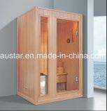 sauna di legno solido di rettangolo di 1200mm per 2 persone (AT-8647)