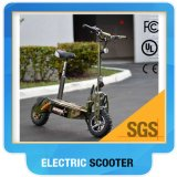 "Dernier Speed ​​Speed ​​Ce RoHS 60V2000W 12 ""Big Wheel Brushless Motor Scooter électrique pour adulte"