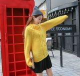 De uitstekende kwaliteit die de Ruige Kabel van Meisjes met de hand breit breit de Sweater van de Verbindingsdraad