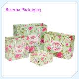 Мешок изготовленный на заказ цветастого подарка упаковывая бумажный
