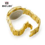 Belbi Luxuxleopard-Diamant-Frauen-Armbanduhr-Kleid-Legierungs-Dame Uhr