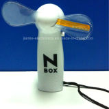 Ventilador vendedor caliente del regalo LED de la promoción mini con insignia impreso (3509)