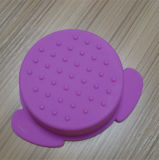 Recipiente de alimento roxo do silicone da cor