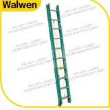 De kleurrijke Ladder die van het Ontwerp FRP de Stap Geïsoleerden Glasvezel van de Ladder vouwen