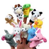 Kundenspezifische Finger-Marionetten-kundenspezifisches Plüsch-Spielzeug