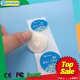 공장 승진 황옥 512 수동적인 RFID NFC 꼬리표 스티커