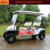 良質は4 Seater電気ハンチングゴルフカートをカスタマイズした