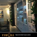 現代デザインホーム家具のワードローブの戸棚のアパートの全家のカスタム食器棚の家具Tivo-004VW