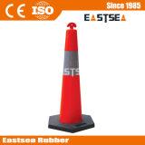 Polietileno de Plástico Colorido T-Top Delineator Cone Roadway Facility