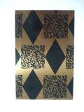 Feuille décorative d'acier inoxydable de couleur du matériau de construction 304