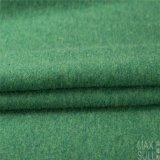 Doubles tissus de cachemire de côtés de 100% pour la saison de l'hiver en vert