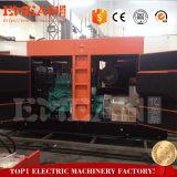 Weichai Engine의 40kw/50kVA 침묵하는 디젤 엔진 발전기