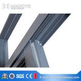 Finestra scorrevole in alluminio termico in vetro vetrato doppio