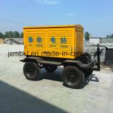 Diesel die van de Aanhangwagen van de Verkoop 75kw/93kVA van de fabriek Generator door de Motor van Cummins wordt aangedreven (facultatieve merken)