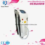 Machine à commutation de Q de déplacement de tatouage de laser de diode de ND YAG de la CE de la clinique verticale approuvée pertinente rapide 1064nm 532nm de tatouage