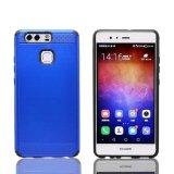 Los TPU más nuevos venden al por mayor la caja del teléfono celular de la manera del estilo del trefilado para Huawei P9
