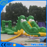 中国製PVC防水シートのSanbeachの膨脹可能なスライド