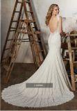 Robes 2017 de mariage nuptiales de lacet de cru Wm1704