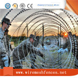 Collegare a fisarmonica galvanizzato del rasoio per la rete fissa della prigione