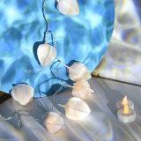 Guirlande LED Étoile Guirlande lumineuse Fleur de Noël Lumières de Noël Chambre Decor
