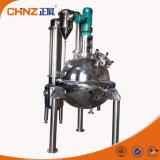 Da maquinaria farmacêutica química das ervas do alimento do aço inoxidável 316 evaporador de único efeito externo