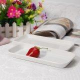 Piatti di ceramica di rettangolo della cucina di approvazione del Ce di uso quotidiano