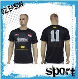 Vente en gros Cheap Customized Polyester Sublimation Dri Fit Soccer Shirt (S025)