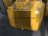 Portello d'acciaio del cancello di sicurezza dell'impalcatura per costruzione