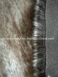 Tessuto a riccio lungo dell'alta del mucchio della pelliccia di falsificazione della pelliccia del Faux della pelliccia pelliccia di Articial per l'indumento/pattino/cappello