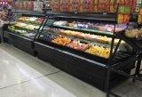 Refrigerador do indicador da fruta e verdura do equipamento do supermercado