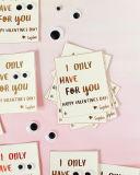 Papier d'aluminium de couleur d'or d'estampage de clinquant de clinquant chaud argenté de transfert thermique sur la carte de bénédiction de carte de cadeau de carte de voeux pour le mari/épouse