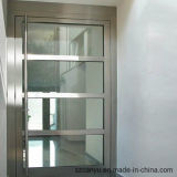 Portello di alluminio di vetro del blocco per grafici della mobilia domestica