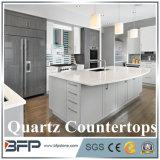 Кристаллический белый Countertop кварца, самоцветные каменные слябы