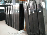4mm-10mm покрашенное черное декоративное плоское стекло листа поплавка (C-B)