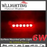 Ultra dünne 6 LED-Oberflächen-Montierung Lighthead