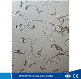 O ácido decorativo gravou o vidro da arte com CE, ISO9001