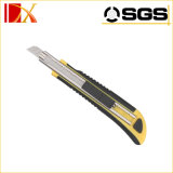 Cuchillo utilitario automático con el cuchillo utilitario retractable de tres de las láminas de las láminas cuchillos del cortador