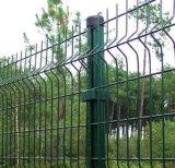 Rete fissa saldata ricoperta PVC della rete metallica