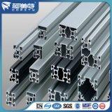 Profil industriel en aluminium argenté anodisé de norme de l'OIN