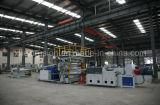 Panneau de marbre décoratif de PVC faisant à machine/PVC la chaîne de production de marbre d'imitation de feuille