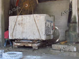 Машина каменного резца для блока мрамора гранита вырезывания в слябы
