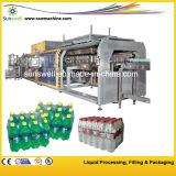 Пластичные машина для упаковки Shrink пленки бутылок Semi автоматические/машина упаковки Shrink