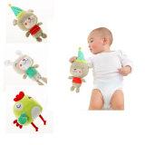 Vulde de Aanbiddelijke Pluche van de baby het Dierlijke Zachte Stuk speelgoed van het Stuk speelgoed van de Pluche
