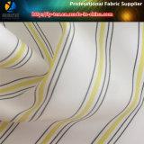 Голубая ткань подкладки, ткань подкладки втулки полиэфира в пряже покрашенной для костюма (S67.68)